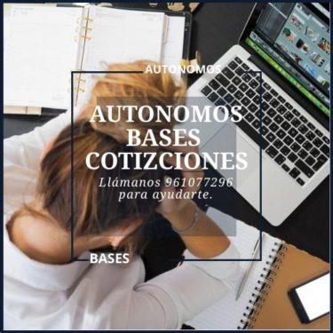 Autónomos-Bases-Cotizaciones-2019