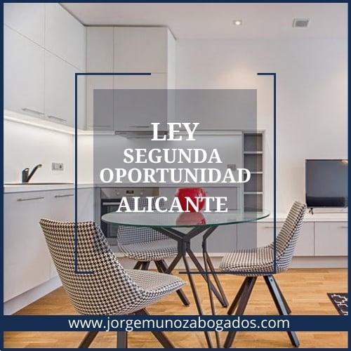 Ley Segunda Oportunidad Alicante