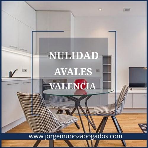 Nulidad Avales Valencia