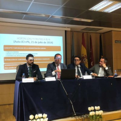 CÁTEDRA DE ADMINSITRACIÓN E INTERVENCIÓN JUDICIAL ABOGADOS JORGE MUÑOZ CONSULTORES SLP
